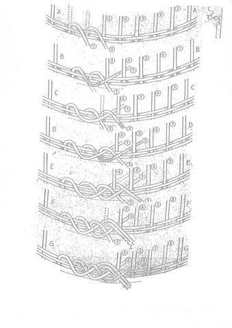 Seite 1 - (Handarbeit, flechten, Peddigrohr)