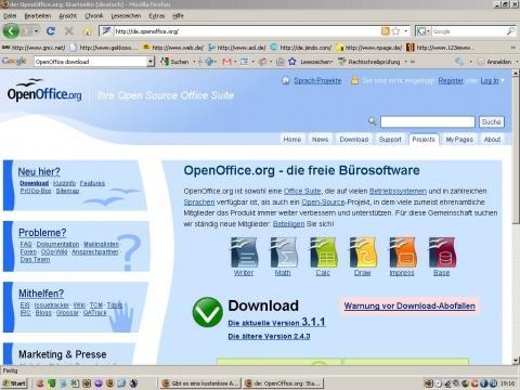 OOO.org Download - (Computer, Microsoft, Textverarbeitung)