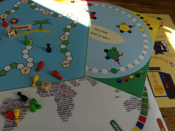 Spieltz individuelle Brettspiele - (Schule, Spiele, Ideen)