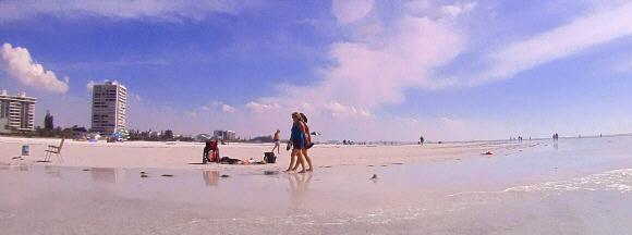 Siesta Key - Beach No. 1 der USA - (Urlaub, USA, Ferien)