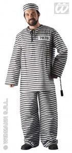 So sieht Gefängniskleidung eigentlich tratitionell aus. - (Kleidung, Farbe, Gefängnis)