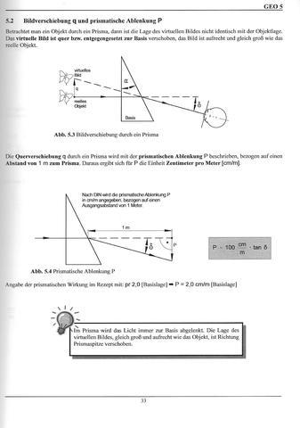 Lichtablenkung am Prisma - (Physik, Licht, Prisma)