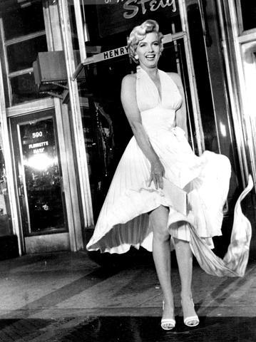 """Marilyn's Outfit vom Film """"Das verflixte 7. Jahr"""". - (Party, Motto, VIP)"""