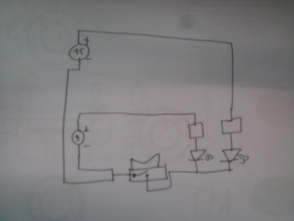 Schaltung (nicht Regelkonform!!) - (Freizeit, Physik, Strom)