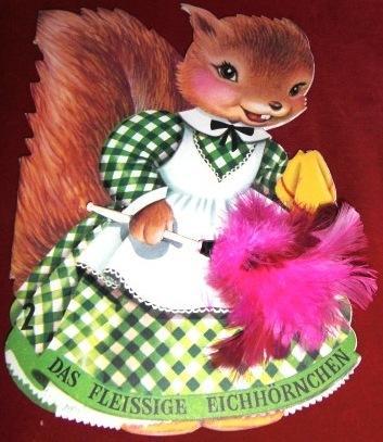 Das fleissige Eichhörnchen - (Haus, Kinderbuch, bilderbuch)