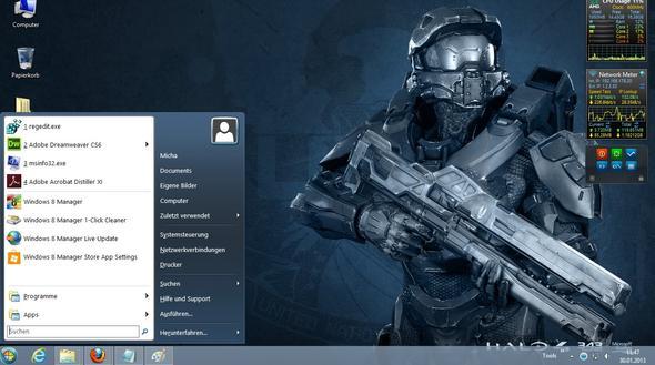 Mein Desktop - (Computer, Windows 7, Windows 8)