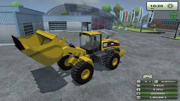 LS2013_CAT966H - (Computer, Simulator, Landwirtschaftssimulator)