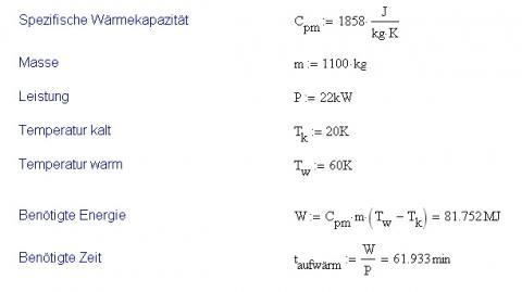 Formel - (Haushalt, Heizung)