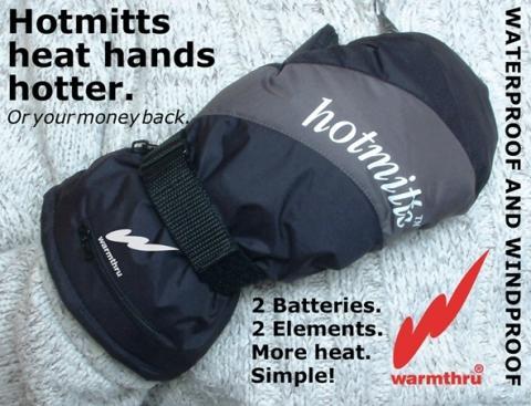Unsere beheizbaren Faeustlinge Hotmitts - (Fußball, Torwart, Handschuhe)