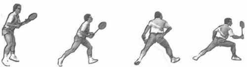 Unterhand Clear Badminton