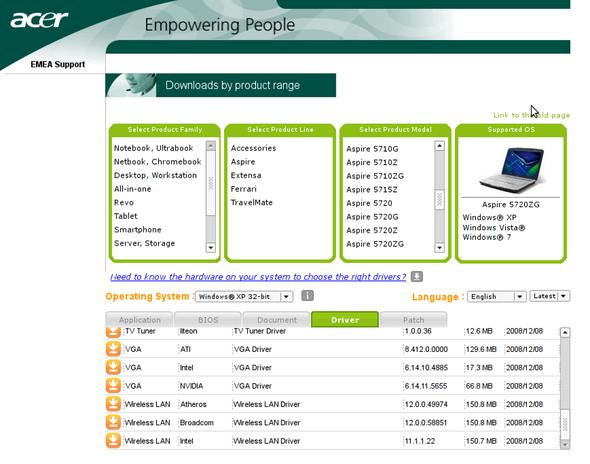 Acer Aspire - (PC, WLAN, Notebook)