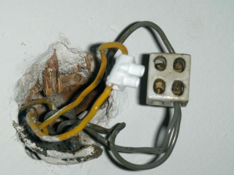 5 kabel aus der decke strom lampe. Black Bedroom Furniture Sets. Home Design Ideas