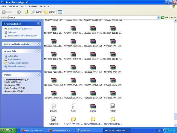 meine Ordner. - (Computer, Windows, Windows 7)
