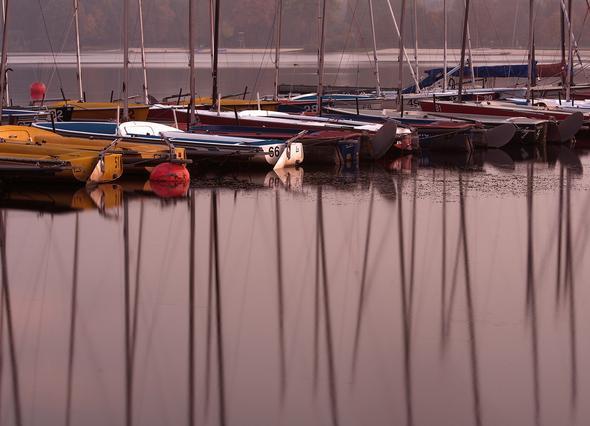Abendstimmung am See - (Technik, Kamera, Canon)