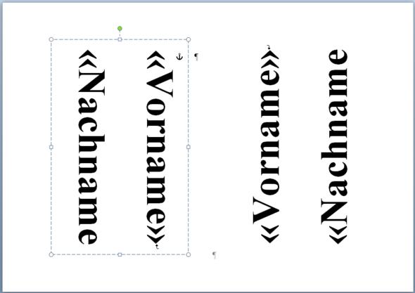 Namensschilder Erstellen Mit Word 2010 A5 Format Computer