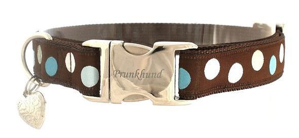 Halsband tupfen - (Hund, Hundehalsband)