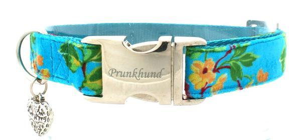 Halsband Blumen - (Hund, Hundehalsband)