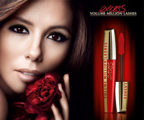 volume million lashes excess kampagne - (Beauty, Aussehen, Schminke)