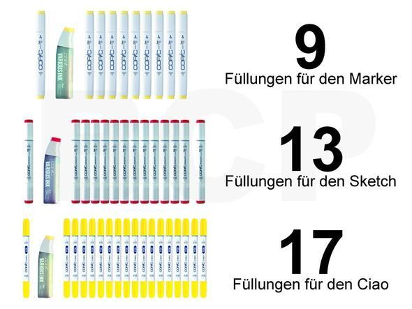 Copic Various Ink Nachfüllen - (Copic, Copic Marker, Nachfüllpatronen)