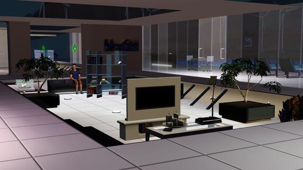 Sims 3 moderne h user bauen spiel for Moderne villen von innen