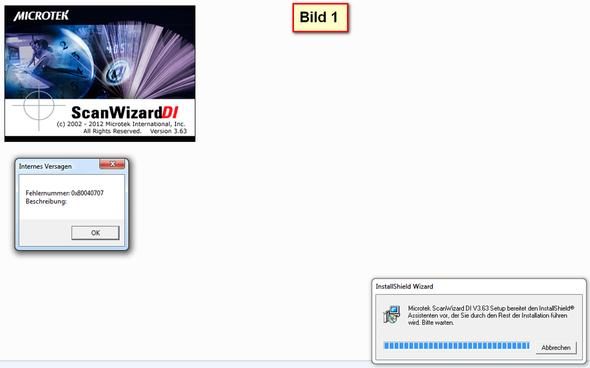 Bild 1 - (Computer, installieren, Scanner)