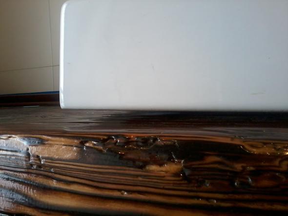 spalt f llen zwischen waschbecken und waschtischplatte womit technik bauen handwerk. Black Bedroom Furniture Sets. Home Design Ideas