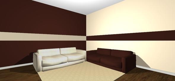 wohnzimmer gemtlich streichen braun ~ moderne inspiration ... - Wohnzimmer Weis Streichen