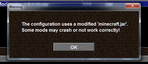 Das bild  - (Minecraft, Fehler, Mods)