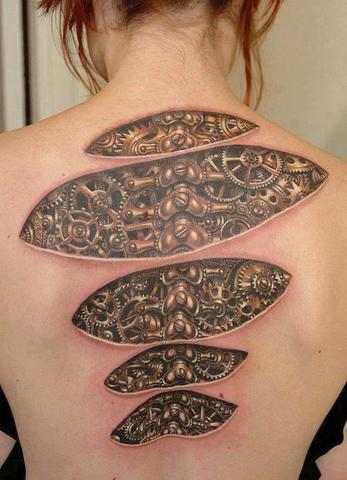 Biomechanik Tattoo Hilfe