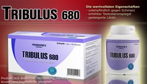 Tribulus680 von Pharmasports - (Muskelaufbau, Tribulus)