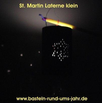 St Martin Latern von www.basteln-rund-ums-jahr.de - (Christentum, basteln, Brauchtum)