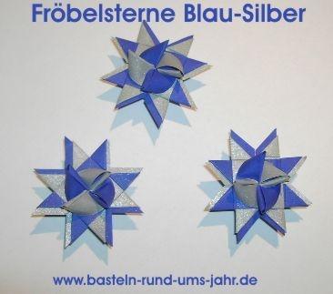 Fröbelstern von www.basteln-rund-ums-jahr.de - (Christentum, basteln, Brauchtum)