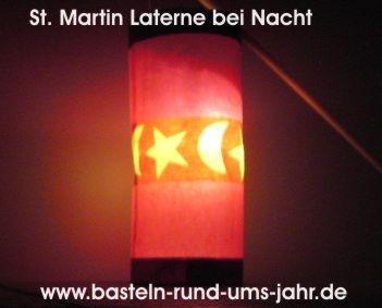 St. Martin Laterne von www.basteln-rund-ums-jahr.de - (Christentum, basteln, Brauchtum)