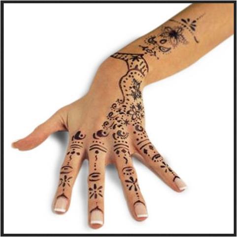 k rperfarbe die wasserfest ist und ca 1 woche h lt farbe schminken henna. Black Bedroom Furniture Sets. Home Design Ideas