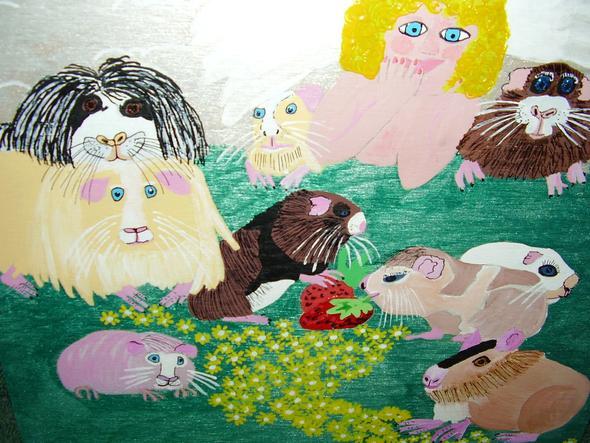 Schweinchenwiesenglück - (Meerschweinchen, Husten)