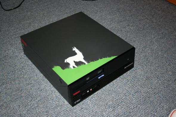 lama - (PC, Farbe, malen)