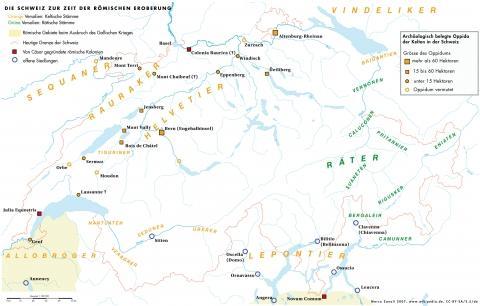 Historische_Karte_Schweiz - (Geschichte, Latein, Antike)