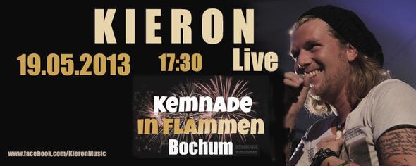 "Kieron live bei ""Kemnade in Flammen"" - (Musik, Youtube, Saenger)"