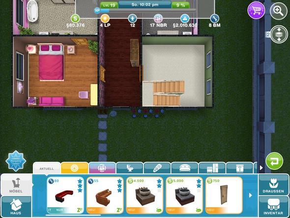 Abteil:Haus  - (iPhone, sims freispiel)