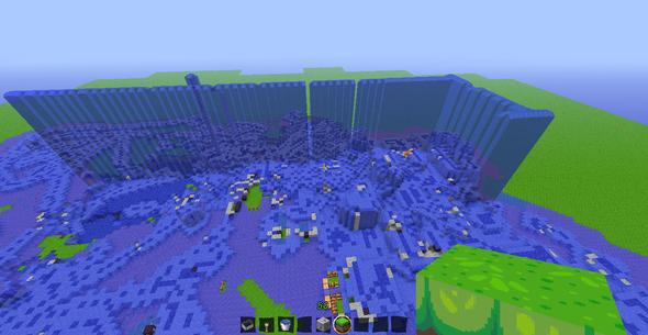 Minecraft Gibt Es Irgendeine Schnellere Methode Um Eine Große - Minecraft haus unter wasser bauen