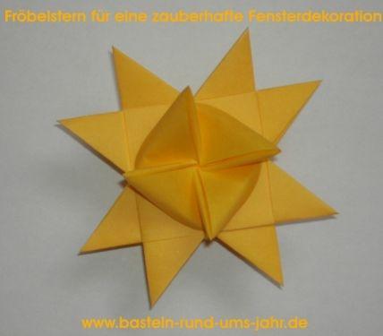 Fröbelstern von www.basteln-rund-ums-jahr.de - (basteln, Sterne, Venezia)