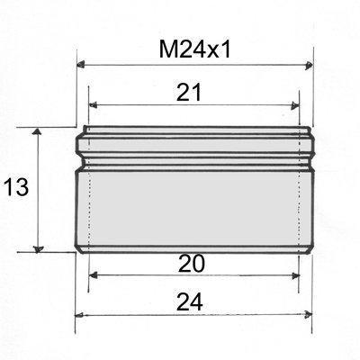 Perlotormasse M24x1 - (Haushalt, Heimwerker, Badarmatur)