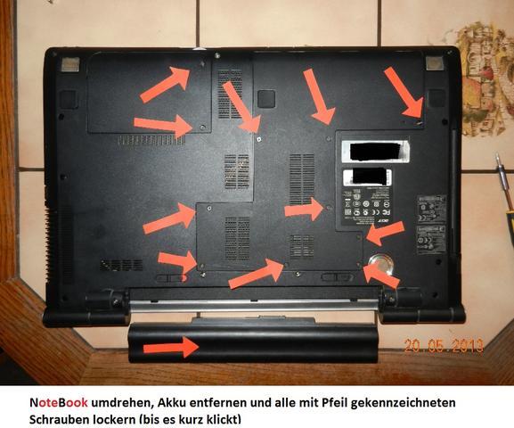 Detailbild aus meiner Fotogalerie - (Computer, Hardware, Acer)