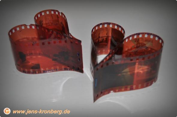 Kunstobjekt Negative Herzen - (Film, Bilder, Foto)