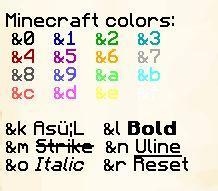 Auf MinecraftServern Text Markieren Und Färben Schreiben Chat - Minecraft farbige namen andern