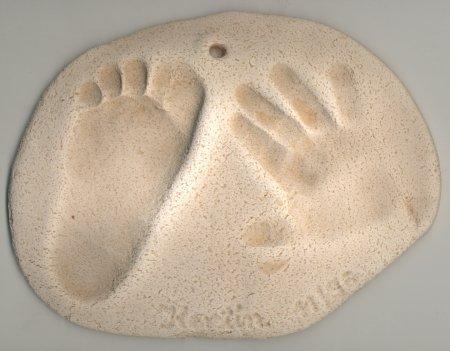 Hände und Füße! - (Ideen, basteln, Kindergarten)