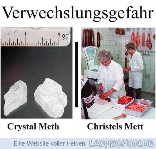 Ab wann wird man crystal meth süchtig Gesundheit Drogen