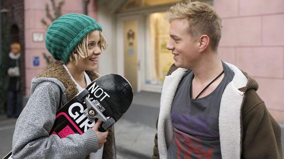 Skateboard - (Sport, Mädchen, Umfrage)