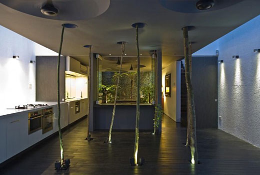 Haus um einen baum bauen geht das architektur palme for Teng yong interior design decoration