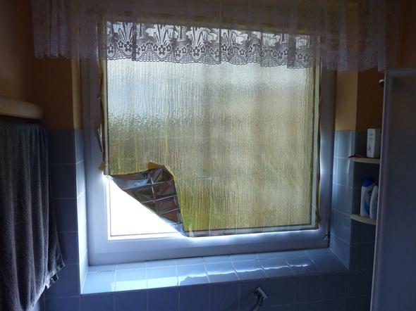 Erste-Hilfe-Folie als Sonnenschutz - (Technik, Haus, wohnen)